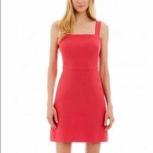 Nicole Miller Bow Back Dress Coral Size 14